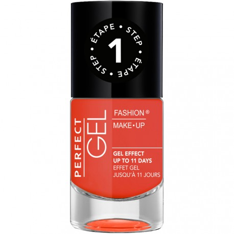 Fashion Make-Up - Perfect Gel Vernis Etape 1 n°15 Scarlett - 10ml