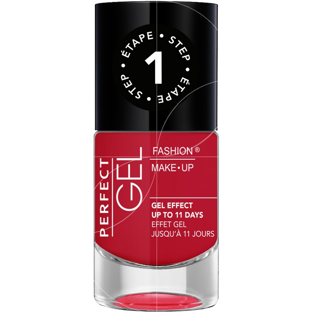 Fashion Make-Up - Perfect Gel Vernis effet gel n°13 Glamour - 10ml