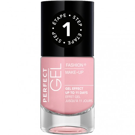 Fashion Make-Up - Perfect Gel Vernis Etape 1 n°04 Candy - 10ml