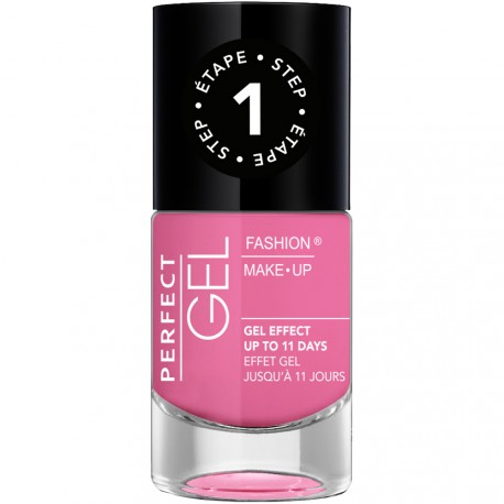 Fashion Make-Up - Perfect Gel Vernis Etape 1 n°05 Bubble Gum - 10ml