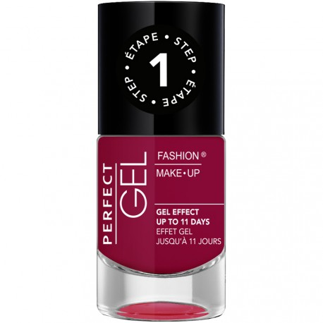 Fashion Make-Up - Perfect Gel Vernis Etape 1 n°07 Framboise - 10ml