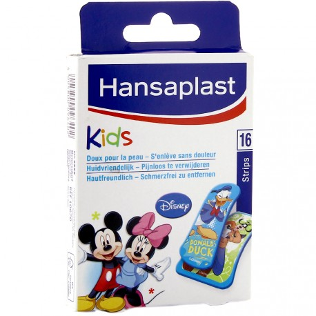 Hansaplast - 16 pansements Kids Illustration Mickey et ses amis