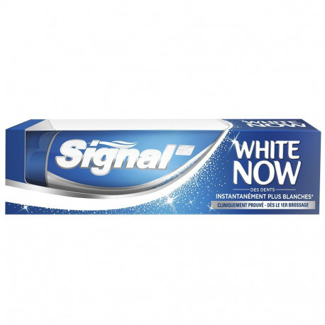 Signal - Dentifrice WHITE NOW - 75ml