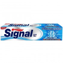 Signal - Dentifrice Crystal Gel avec Microparticules Blancheur - 75ml
