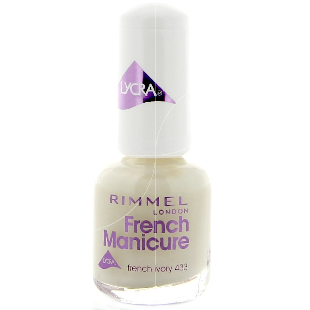 Rimmel - French manicure Vernis Ivoire 433 - 8ml