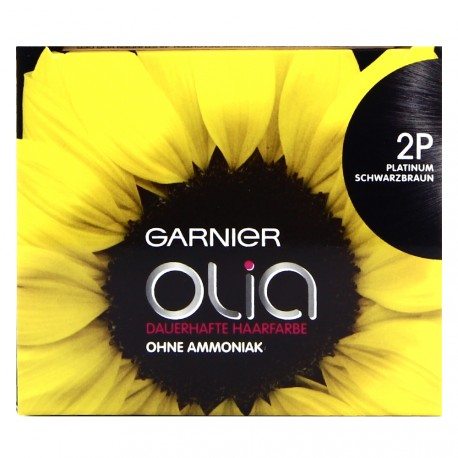 Garnier - Coloration Permanente Olia - 2P Noir platine