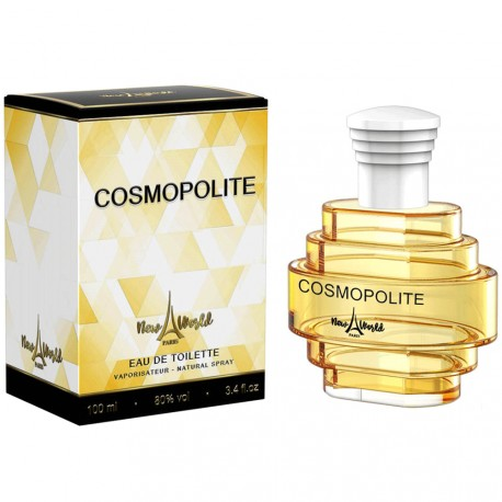 New World - Cosmopolite - eau de toilette femme - 100ml