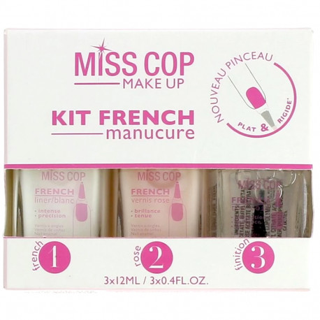 MISS COP - Kit french manucure