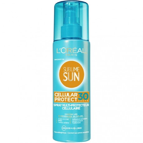 L'Oréal Sublime Sun - Cellular protect Spray Multi-protecteur Cellulaire FPS30 - 200ml