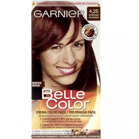 Garnier Belle Color - Coloration 4.25 Chocolat glaçé