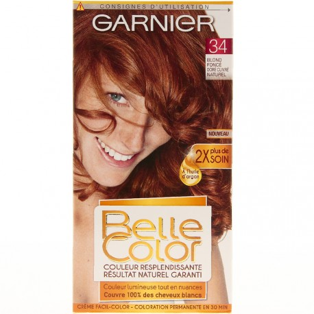Garnier Belle Color - Coloration 34 Blond fonçé doré cuivré naturel