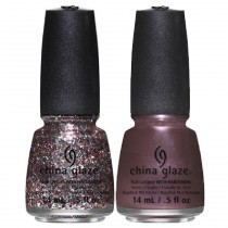 "China Glaze - KIT ""Sprinkle some Twinkle"" - Vernis à ongles laque - 2x14 ml"