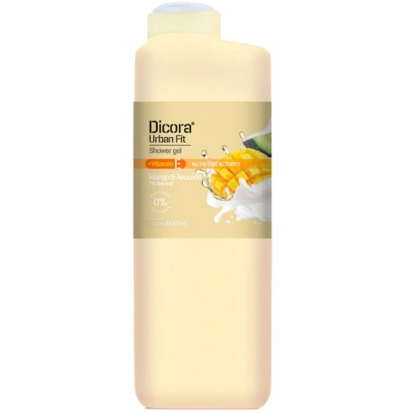 Dicora® Urban Fit - Gel douche Mangue & Avocat - 750ml