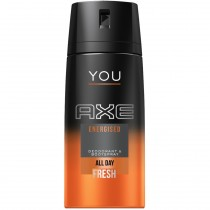 Axe - Déodorant Spray YOU Energised All Day Fresh - 150ml