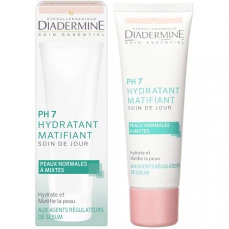 Diadermine - Ph7 Hydratant matifiant Soin de jour - 50ml