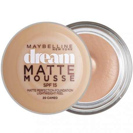 Gemey Maybelline - Dream Matte Mousse Fond de teint n°20 cameo - 18ml