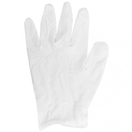 Walking - Gants jetables vinyl-soft L - 100 pcs