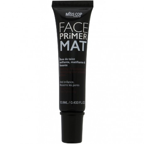 Miss cop - Face primer mat Base de teint unifiante, matifiante et lissante - 12,8ml