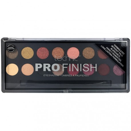 Technic - Palette Pro Finish Hidden treasures - Ombres à paupières - 16g