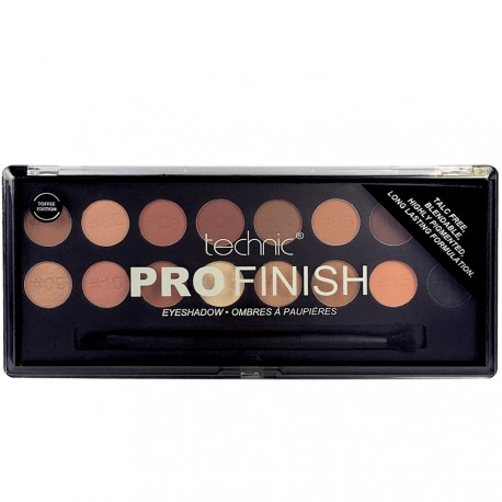 Technic - Palette Pro Finish Toffee Edition - Ombres à paupières - 16g