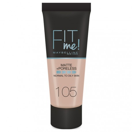 Maybelline - Fond de Teint Fit me n°105 Ivoire naturel - 30ml
