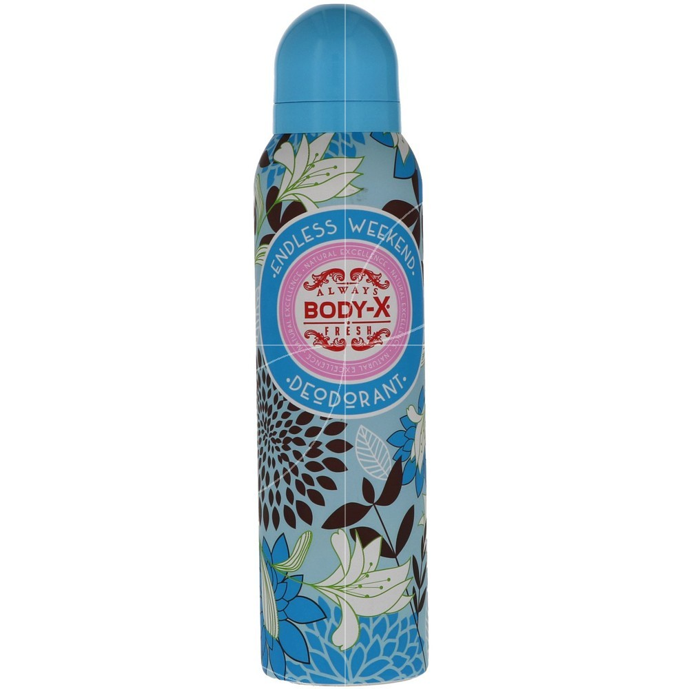Body-X - Déodorant Spray Endless Weekend - 150ml