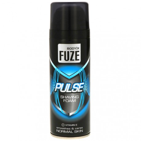 Body-X Fuze - Pulse Mousse à raser Peaux Normales - 200ml