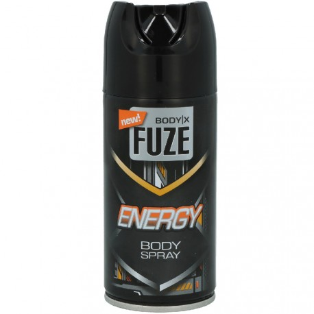 Body-X Fuze - Energy Déodorant Spray - 150ml