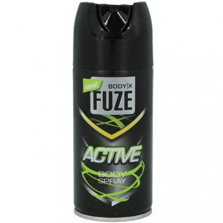 Body-X Fuze - Active Déodorant Spray - 150ml