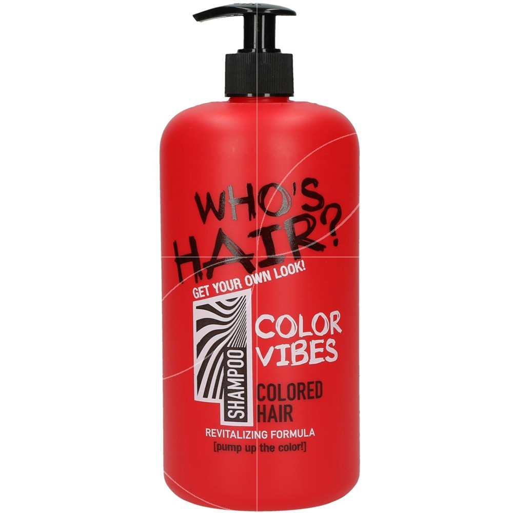 Who's Hair - Shampooing Color Vibes - 1 litre
