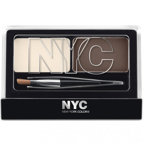 NYC - Kit sourcils 876 brunette