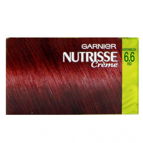 Garnier - Coloration Nutrisse crème - 6.6 Watermelon red