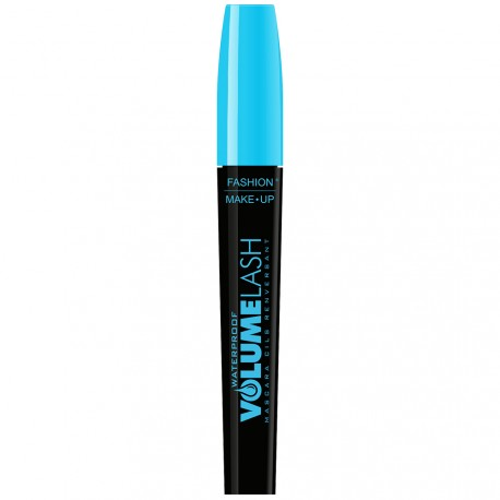 Fashion Make-up - Mascara Noir Waterproof Volume Lash, Cils renversant - 8ml