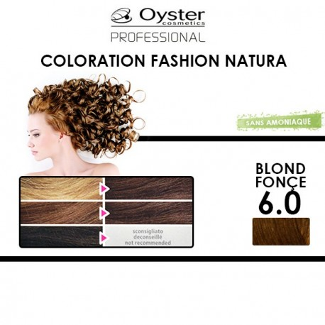 Oyster Fashion natura - Coloration 6.0 Blond Fonçé