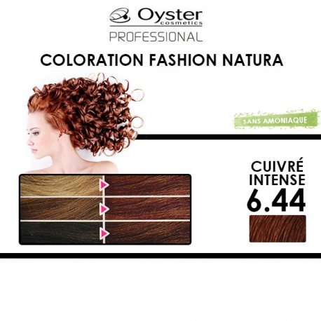 Oyster Fashion Natura - Coloration 6.44 Cuivré Intense
