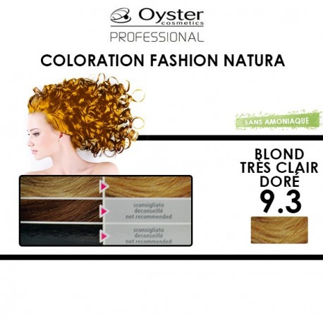 Oyster Fashion natura - Coloration 9.3 Blond Très Clair Doré
