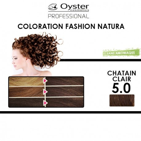 Oyster Fashion Natura - Coloration 5.0 Châtain clair