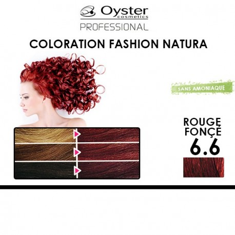 Oyster Fashion Natura - Coloration 6.6 Rouge Fonçé