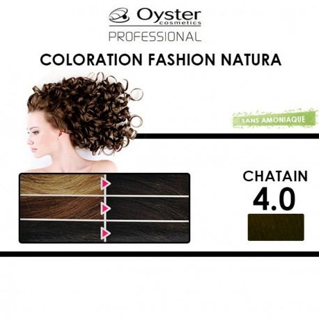 Oyster Fashion Natura - Coloration 4.0 Châtain