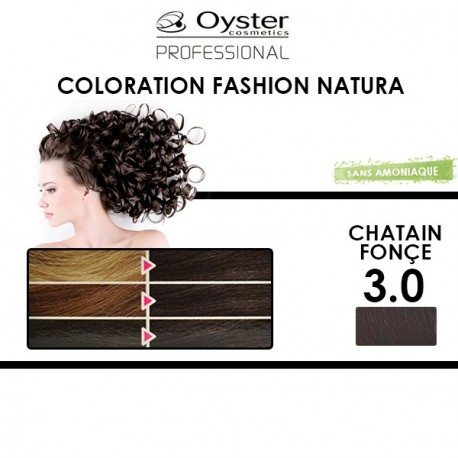 Oyster Fashion Natura - Coloration 3.0 Châtain Fonçé