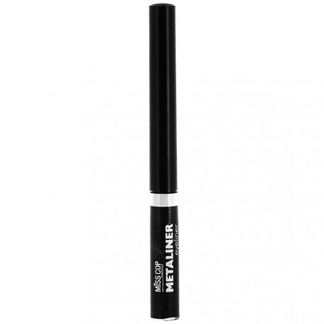 Miss cop - Metaliner eyeliner 01 carbone irisé - 3 ml