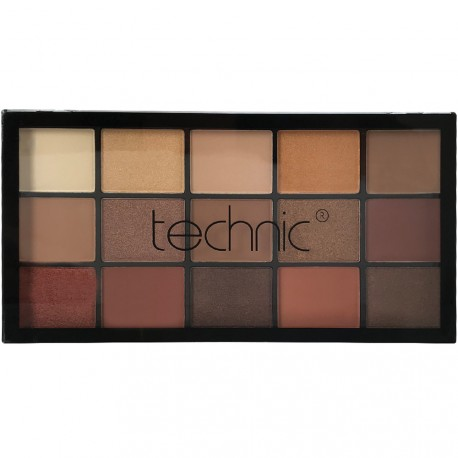 technic - Bronze & Beautiful Palette 15 fards à paupières