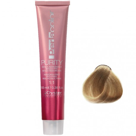 Oyster Purity - coloration 8/0 Blond clair - 100ml