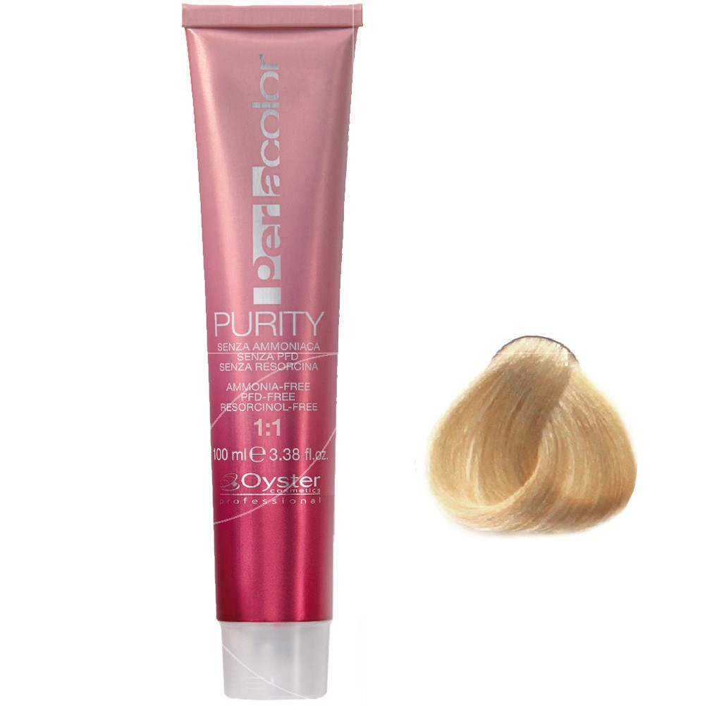 Oyster Purity - coloration 9/0 Blond très clair - 100ml