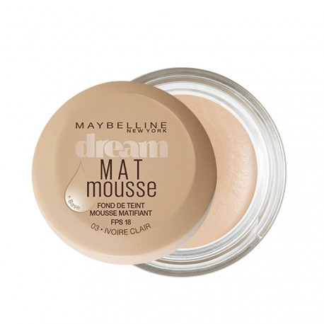 Maybelline - Fond de Teint Dream Mat mousse n°03 Ivoire clair - 18 ml