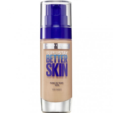 Maybelline - Superstay Better skin Fond de Teint n°30 Sable - 30ml