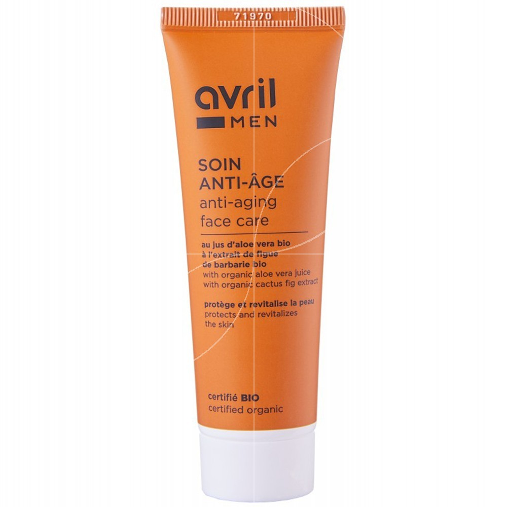 Avril - Soin Anti-Âge pour Homme bio - 50ml