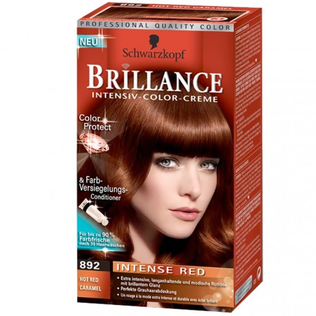 Schwarzkopf - Coloration Brillance 892 Rouge Caramel