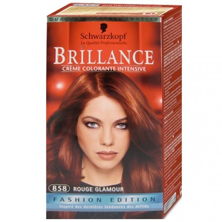 Schwarzkopf - Coloration Brillance 858 Rouge Glamour