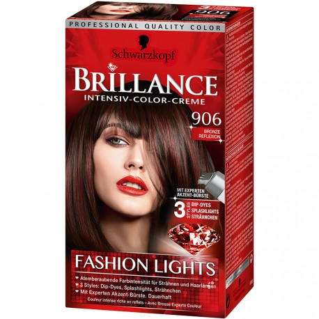 Schwarzkopf - Coloration Brillance Mèches 906 Bronze Reflexion